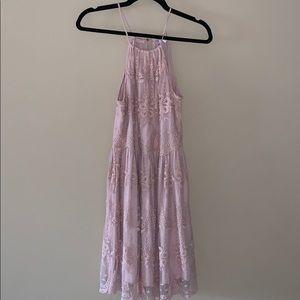 Super Cute Pink Lace Dress